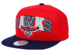 Atlanta Hawks Mitchell and Ness NBA Big Poppin Snapback Cap Adjustable Hats
