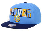 Denver Nuggets Mitchell and Ness NBA Big Poppin Snapback Cap Adjustable Hats