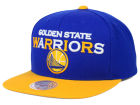 Golden State Warriors Mitchell and Ness NBA Big Poppin Snapback Cap Adjustable Hats