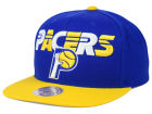 Indiana Pacers Mitchell and Ness NBA Big Poppin Snapback Cap Adjustable Hats