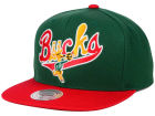 Milwaukee Bucks Mitchell and Ness NBA Big Poppin Snapback Cap Adjustable Hats