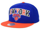 New York Knicks Mitchell and Ness NBA Big Poppin Snapback Cap Adjustable Hats