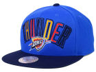 Oklahoma City Thunder Mitchell and Ness NBA Big Poppin Snapback Cap Adjustable Hats