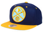 Denver Nuggets Mitchell and Ness NBA Reflective XL Logo Snapback Cap Hats