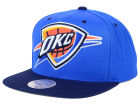 Oklahoma City Thunder Mitchell and Ness NBA Reflective XL Logo Snapback Cap Hats