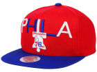 Philadelphia 76ers Mitchell and Ness NBA Big Poppin Snapback Cap Adjustable Hats