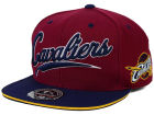 Cleveland Cavaliers Mitchell and Ness NBA Scripture Fitted Cap Hats