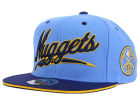 Denver Nuggets Mitchell and Ness NBA Scripture Fitted Cap Hats