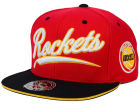 Houston Rockets Mitchell and Ness NBA Scripture Fitted Cap