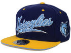 Memphis Grizzlies Mitchell and Ness NBA Scripture Fitted Cap Hats