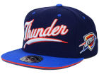 Oklahoma City Thunder Mitchell and Ness NBA Scripture Fitted Cap Hats
