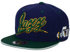 Utah Jazz Mitchell and Ness NBA Scripture Fitted Cap Hats