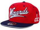 Washington Wizards Mitchell and Ness NBA Scripture Fitted Cap Hats
