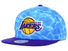 Los Angeles Lakers Mitchell and Ness NBA Big Wave Snapback Cap Hats