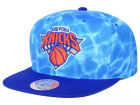 New York Knicks Mitchell and Ness NBA Big Wave Snapback Cap Hats