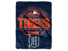 Detroit Tigers The Northwest Company Micro Raschel 46inch x 60inch Structure Blanket Bed & Bath