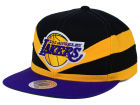 Los Angeles Lakers Mitchell and Ness NBA Slasher Snapback Cap Adjustable Hats