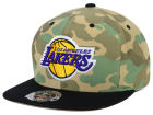 Los Angeles Lakers Mitchell and Ness NBA Ambush Fitted Cap Hats
