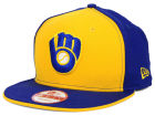 Milwaukee Brewers New Era MLB Coop Flip 9FIFTY Snapback Cap Hats