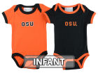 Oregon State Beavers NCAA Infant 2 Pack Contrast Creeper Infant Apparel