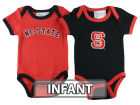 North Carolina State Wolfpack NCAA Infant 2 Pack Contrast Creeper Infant Apparel