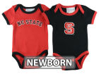 North Carolina State Wolfpack NCAA Newborn 2 Pack Contrast Creeper Infant Apparel