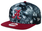 Alabama Crimson Tide New Era NCAA Overcast 9FIFTY Snapback Cap Adjustable Hats