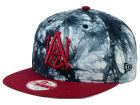 Alabama A&M Bulldogs New Era NCAA Overcast 9FIFTY Snapback Cap Adjustable Hats