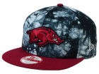 Arkansas Razorbacks New Era NCAA Overcast 9FIFTY Snapback Cap Adjustable Hats