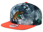 Florida A&M Rattlers New Era NCAA Overcast 9FIFTY Snapback Cap Adjustable Hats