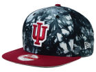 Indiana Hoosiers New Era NCAA Overcast 9FIFTY Snapback Cap Adjustable Hats