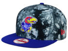 Kansas Jayhawks New Era NCAA Overcast 9FIFTY Snapback Cap Adjustable Hats