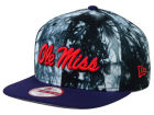 Mississippi Rebels New Era NCAA Overcast 9FIFTY Snapback Cap Adjustable Hats