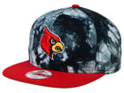 Louisville Cardinals New Era NCAA Overcast 9FIFTY Snapback Cap Adjustable Hats