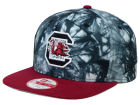 South Carolina Gamecocks New Era NCAA Overcast 9FIFTY Snapback Cap Adjustable Hats