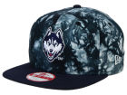 Connecticut Huskies New Era NCAA Overcast 9FIFTY Snapback Cap Adjustable Hats