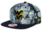 West Virginia Mountaineers New Era NCAA Overcast 9FIFTY Snapback Cap Adjustable Hats