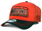 Miami Hurricanes New Era NCAA Trip Trucker 9FORTY Cap Adjustable Hats
