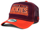 Virginia Tech Hokies New Era NCAA Trip Trucker 9FORTY Cap Adjustable Hats