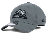 New Era MLB NE Diamond Era Gray Black White 39THIRTY Cap Stretch Fitted Hats