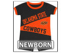 Oklahoma State Cowboys Colosseum NCAA Newborn Megaphone Romper Infant Apparel