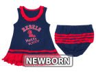 Mississippi Rebels NCAA Newborn Ruffle Tank Dress Infant Apparel