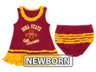Iowa State Cyclones NCAA Newborn Ruffle Tank Dress Infant Apparel