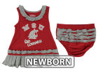 Washington State Cougars NCAA Newborn Ruffle Tank Dress Infant Apparel