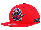 Toronto Raptors Mitchell and Ness NBA Raptors 20th Logo Patch Snapback Cap Adjustable Hats