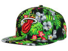 Miami Heat New Era NBA HWC Bloom 9FIFTY Snapback Cap Adjustable Hats