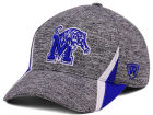 Memphis Tigers Top of the World NCAA HOTD M-Fit Cap Stretch Fitted Hats