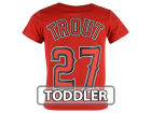 Los Angeles Angels of Anaheim Mike Trout  Majestic MLB Toddler Official Player T-Shirt T-Shirts