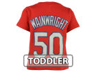 St. Louis Cardinals Adam Wainwright Majestic MLB Toddler Official Player T-Shirt T-Shirts