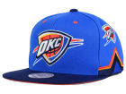 Oklahoma City Thunder Mitchell and Ness NBA Game Day Snapback Cap Adjustable Hats